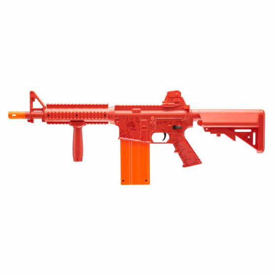 Picture of REKT OpFour CO2 Powered RED Foam Dart Rifle with 12-round magazine : Umarex USA